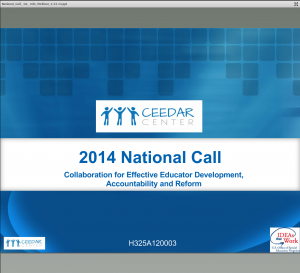 National Call Webinar