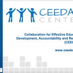 CEEDAR Introduction Webinar