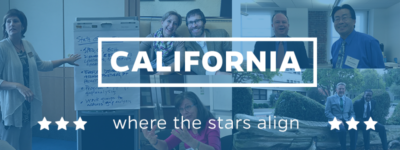 California-where the stars align