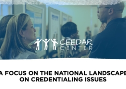 the national landcape on teacher credentialing
