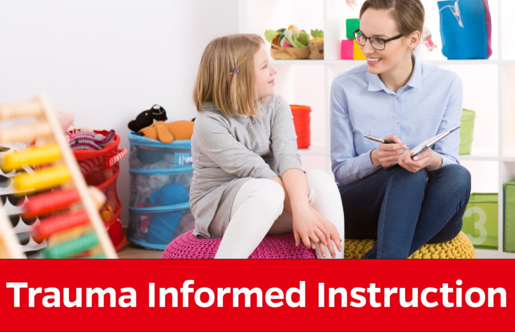 Trauma Informed Instruction: Adult sits with child